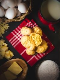 Pão de queijo e seus ingredientes